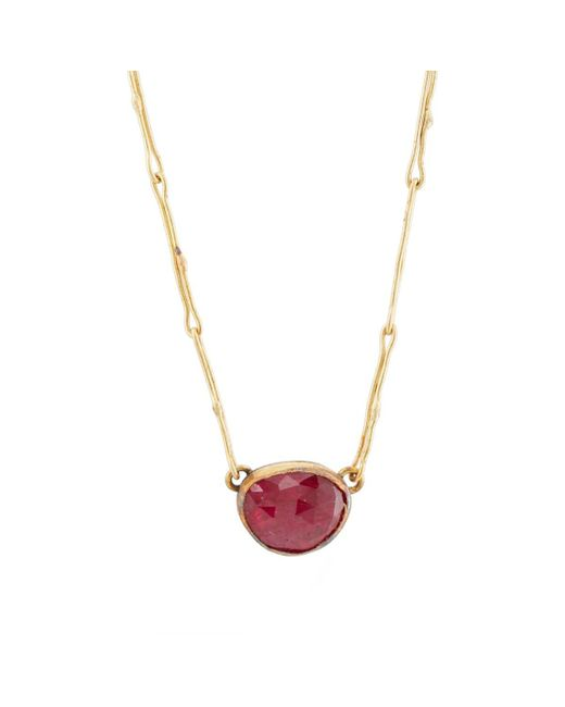 Judy Geib - Red Echo Pendant Necklace - Lyst