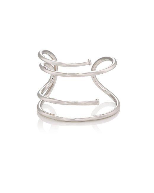 Jennifer Fisher - Metallic Large Pipe Cuff - Lyst