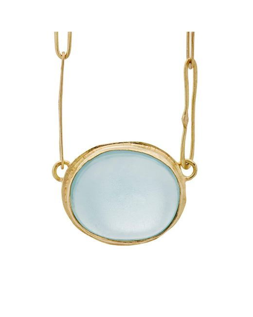 Judy Geib | Blue Aquamarine Echo Necklace | Lyst
