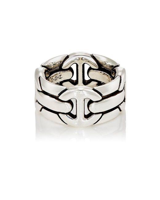 Hoorsenbuhs Metallic Quad Wall Ring for men