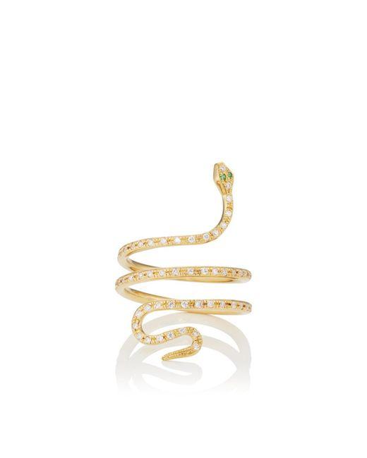 Ileana Makri - Metallic Single Python Ring - Lyst