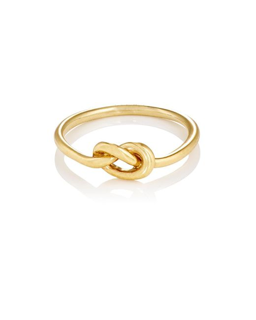 Finn - Metallic Love Knot Ring - Lyst