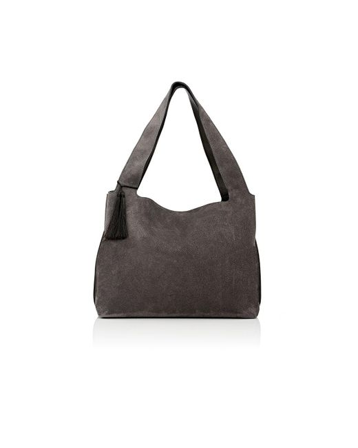 The Row | Gray Duplex Shoulder Bag | Lyst