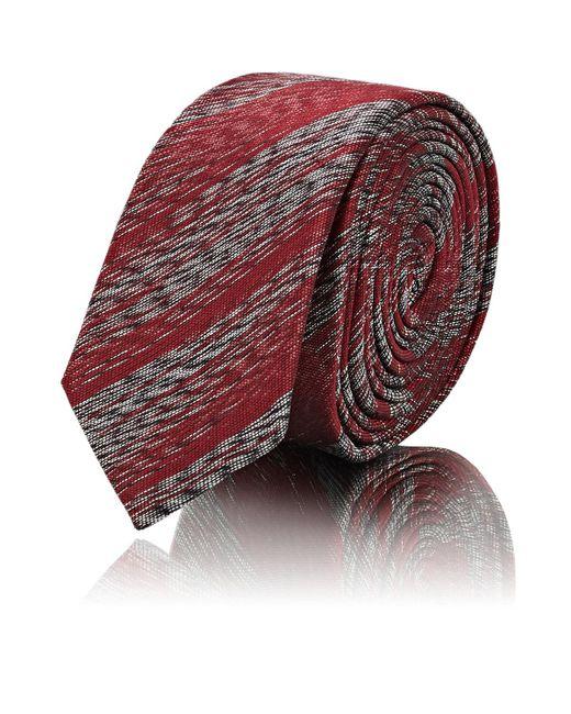 Saint Laurent - Red Metallic for Men - Lyst