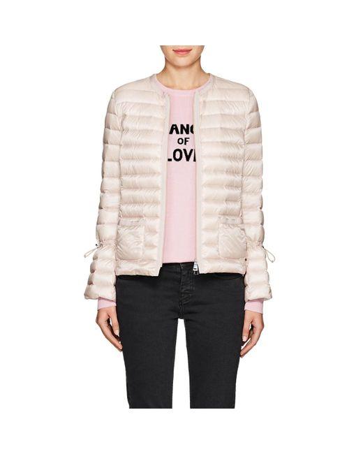 Moncler - Pink Almandin Puffer Jacket - Lyst