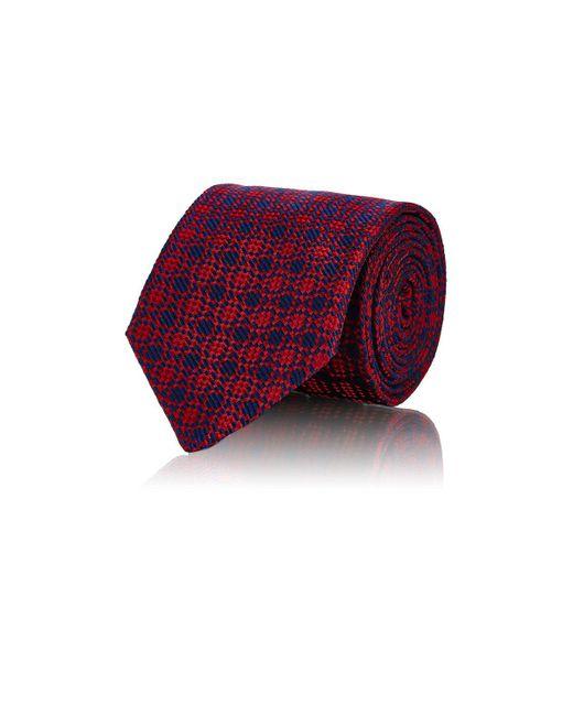 Barneys New York   Red Geometric for Men   Lyst