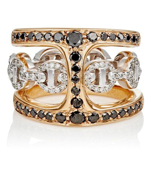 Hoorsenbuhs - White Dame Phantom Clique Ring Size 5.5 - Lyst