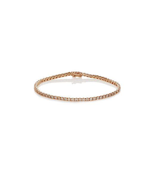 Eva Fehren - Metallic Tennis Bracelet - Lyst