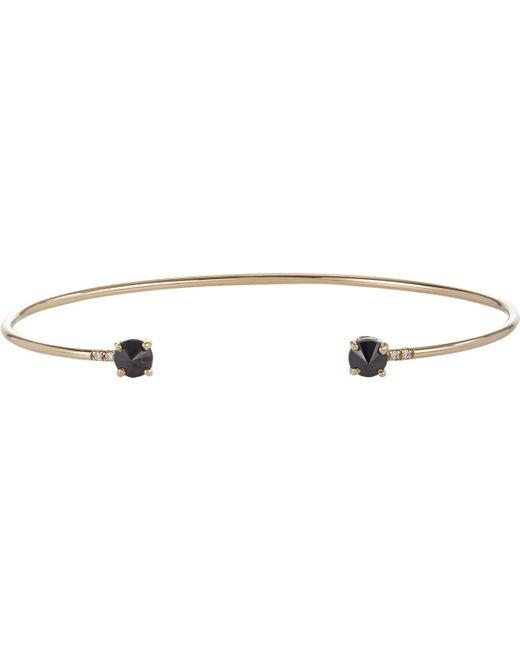 Jennie Kwon | Multicolor Onyx, Diamond & Gold Wire Cuff | Lyst