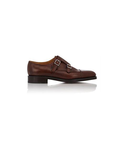 John Lobb Brown William Ii Double-monk-strap Shoes for men