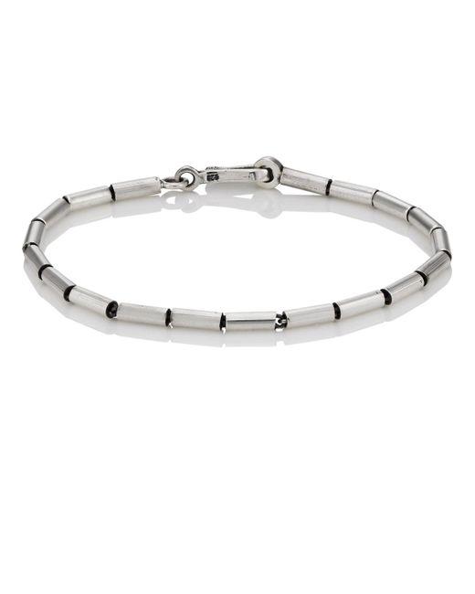 Caputo & Co. - Metallic Sterling Silver Beaded Bracelet for Men - Lyst