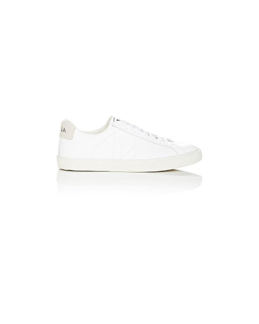 Veja - White Esplar Leather Sneakers - Lyst