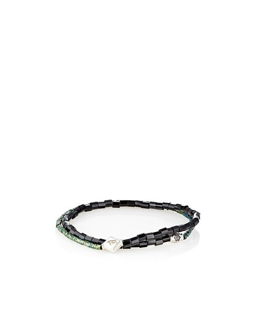Luis Morais | Green Beaded Double for Men | Lyst