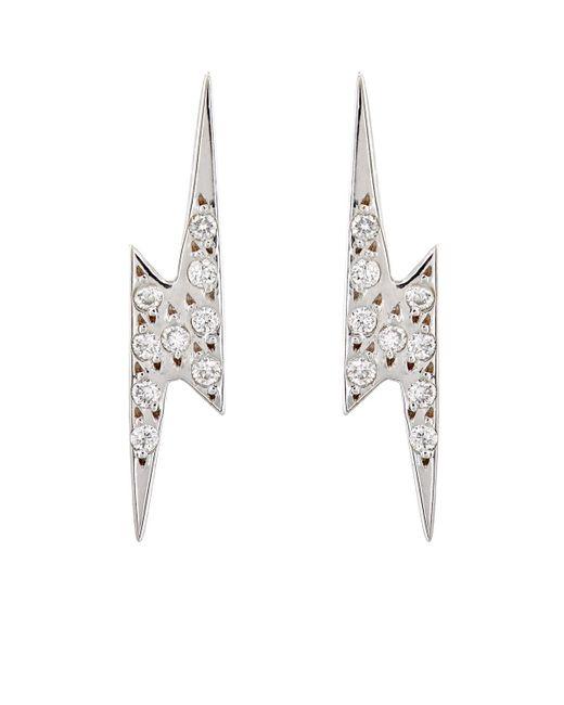 Ileana Makri | White Diamond Little Thunder Studs | Lyst