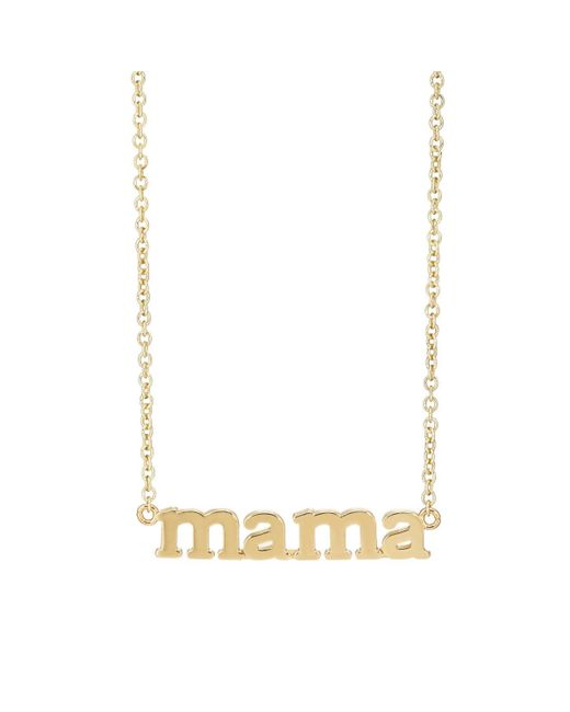 Jennifer Meyer - Metallic mama Pendant Necklace - Lyst