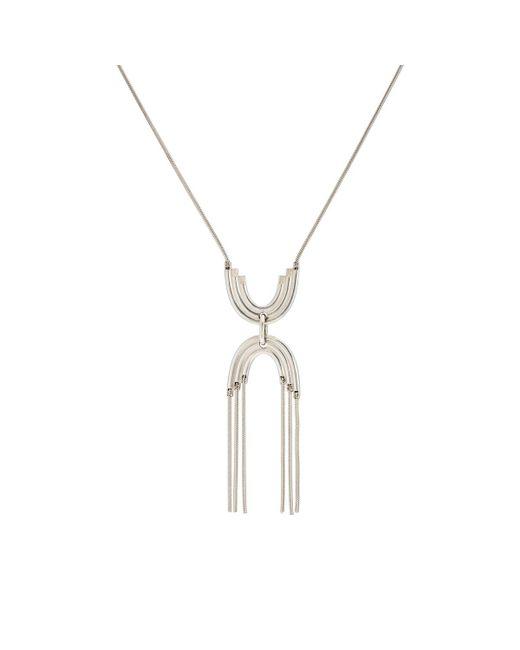 Pamela Love - Metallic Iris Pendant Necklace - Lyst