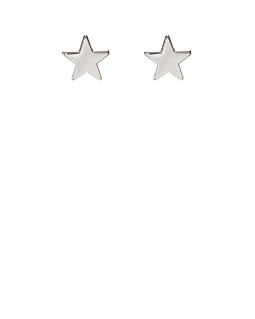 Jennifer Meyer - Metallic Mini Star Stud Earrings - Lyst