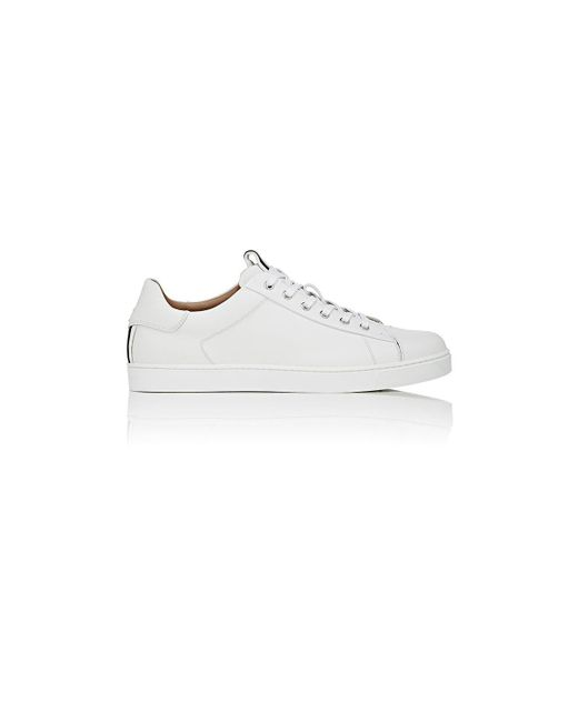 Gianvito Rossi - White David Low-top Sneakers for Men - Lyst
