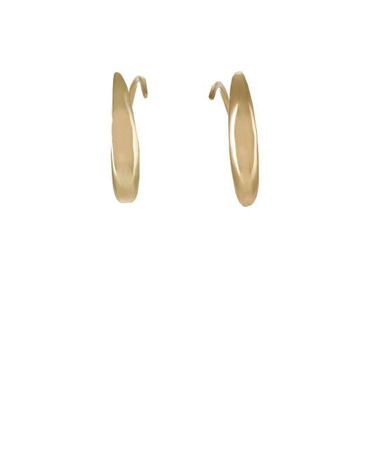 Tom Wood | Metallic Ear Loop Earrings | Lyst