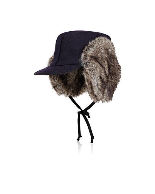 Lola Hats - Blue Woodsman Wool Trapper Hat for Men - Lyst