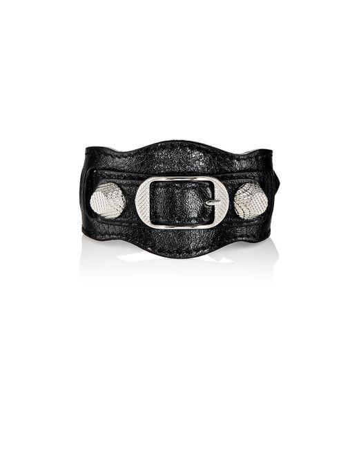 Balenciaga | Black Arena Giant Bracelet | Lyst