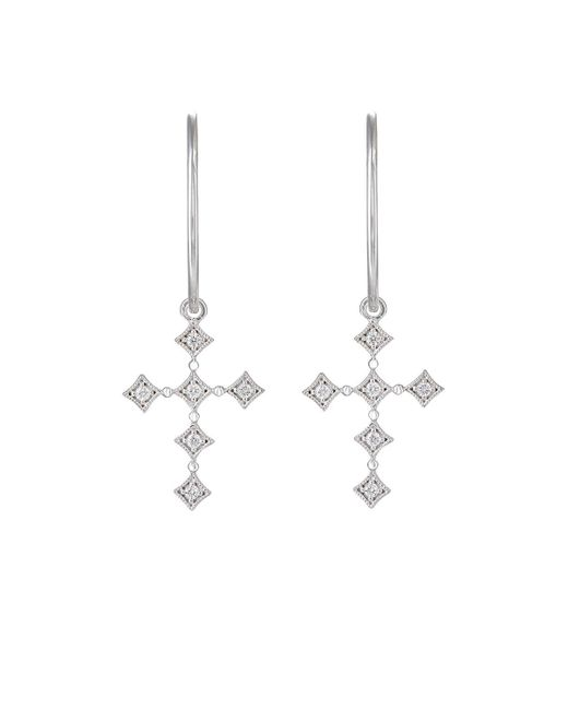 Stone - Metallic Divine Hoop-top Earrings - Lyst