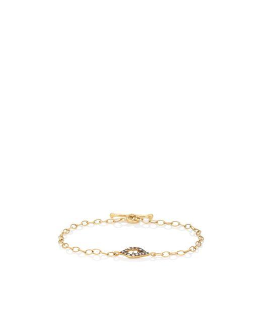 Cathy Waterman - Metallic Open Leaf Bracelet - Lyst