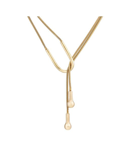 Pamela Love | Metallic Lasso Necklace | Lyst
