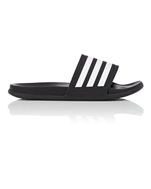1d9ea303ff59 Lyst - adidas Originals Adilette Slip-on Slides in Black for Men ...