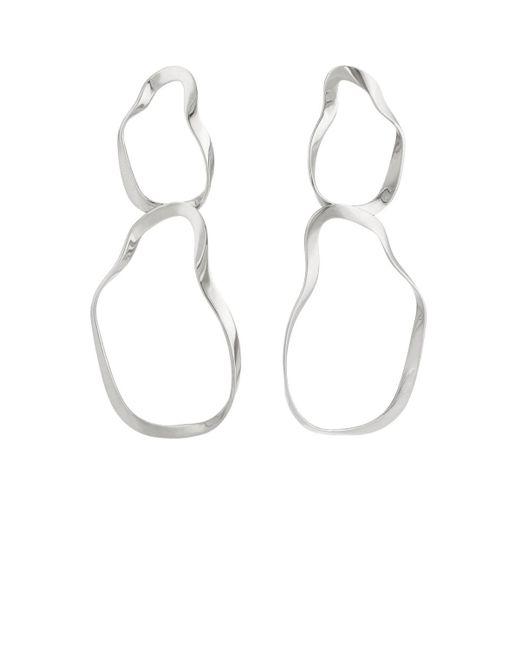 Agmes - Metallic Viviane Earrings - Lyst