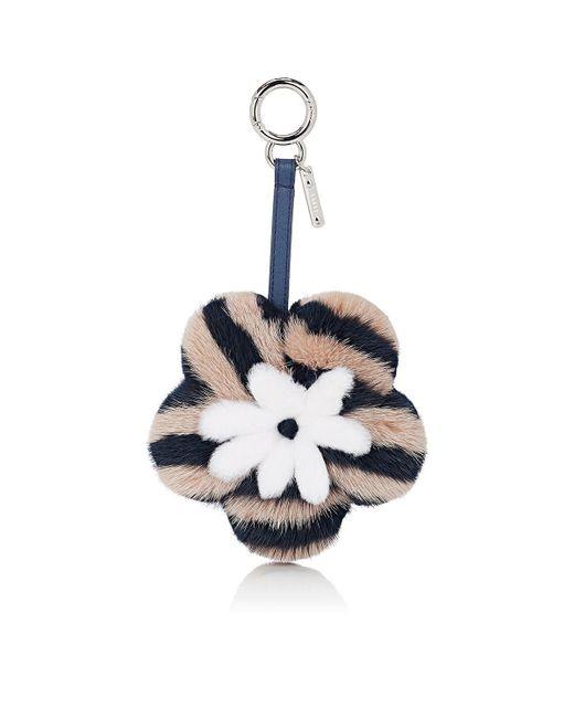 Fendi - Pink Flower Bag Charm - Lyst