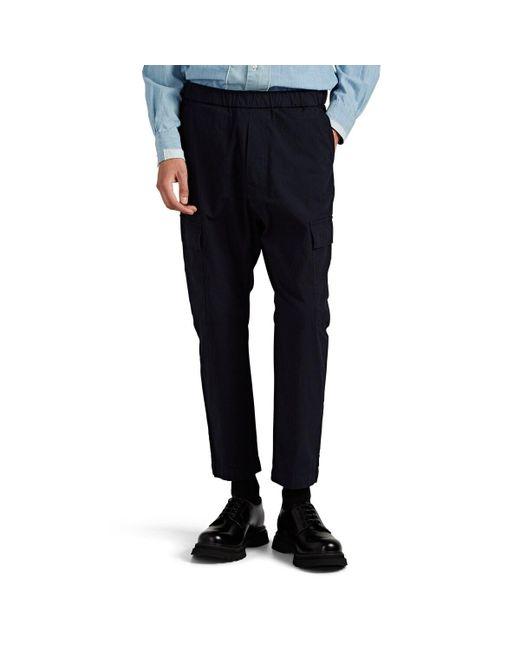 so cheap arriving distinctive style Men's Blue Cotton Ripstop Cargo Pants