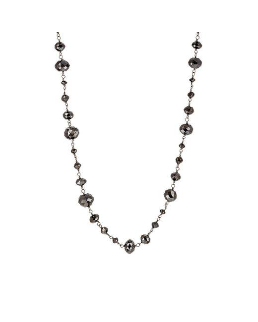 Sidney Garber | Metallic Diamond Bead Necklace | Lyst