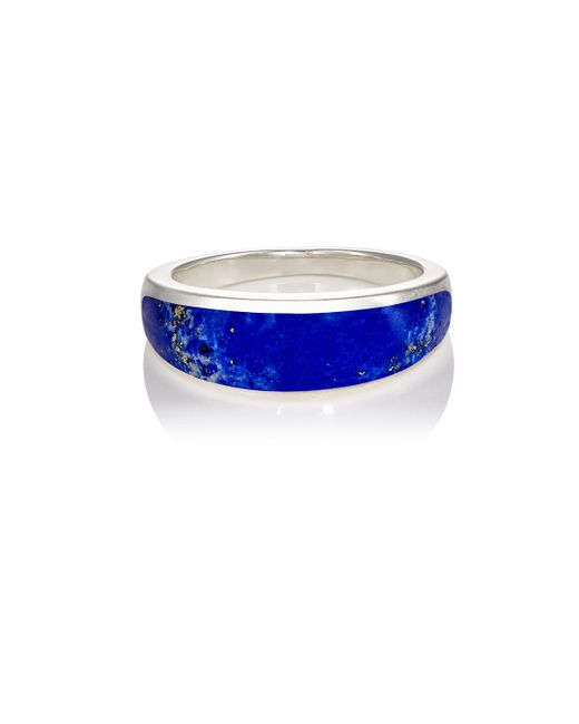 Pamela Love | Blue Inlay Cocktail Ring | Lyst