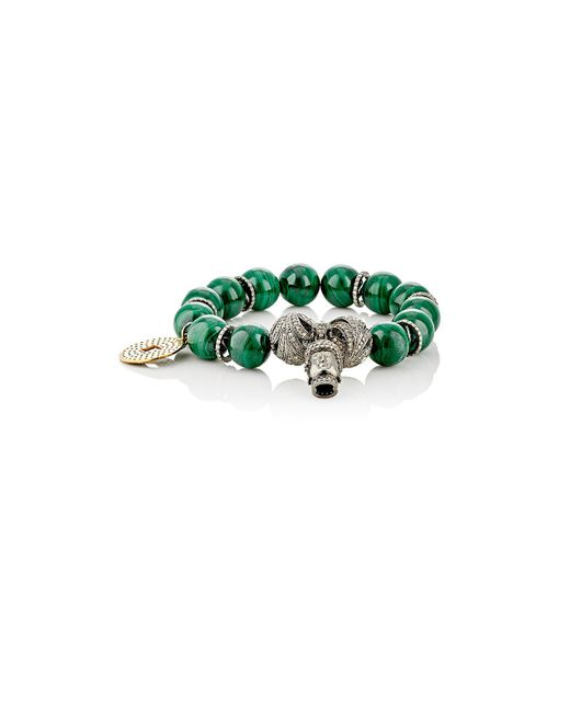 Carole Shashona - Green Goddess Aphrodite Bracelet - Lyst