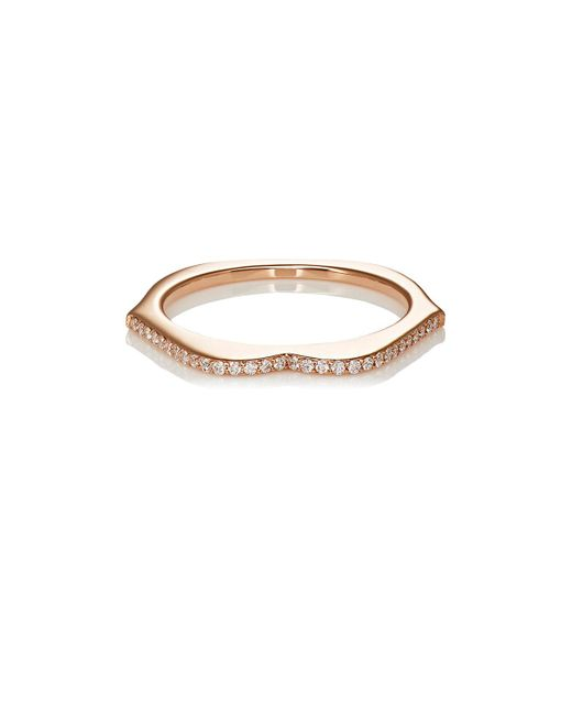 Raphaele Canot - Metallic Omg! Thin Lips Ring - Lyst