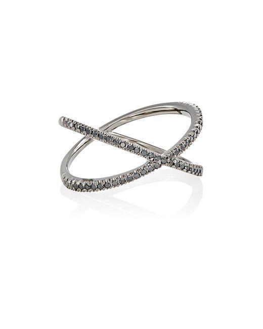 Eva Fehren - Metallic Fine Shorty Ring - Lyst