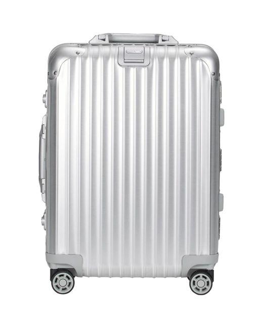 Rimowa - Metallic Topas 22 Cabin Multiwheel® Iata Trolley for Men - Lyst