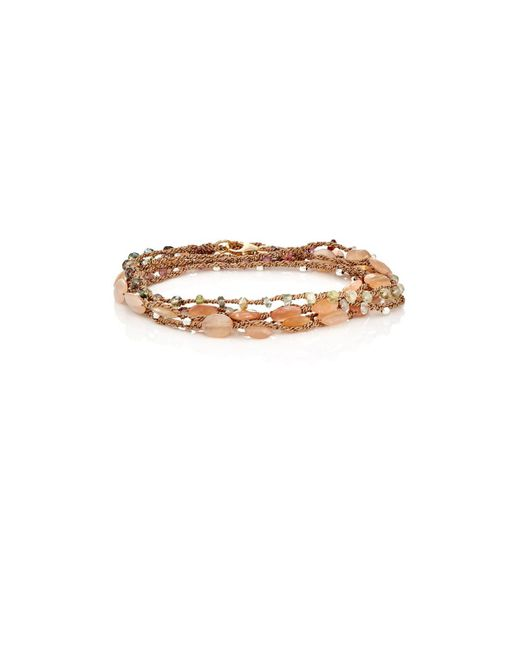Feathered Soul - Metallic #sooth Wrap Bracelet - Lyst