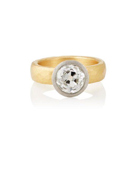 Malcolm Betts | White Diamond Ring | Lyst