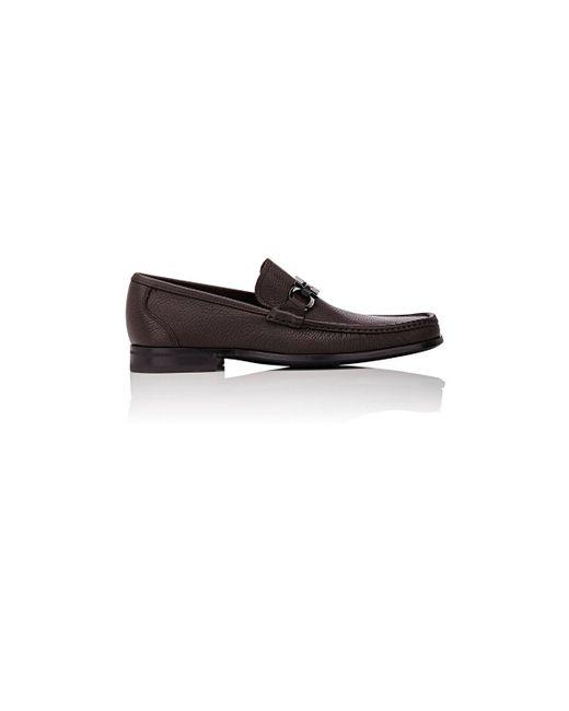 Ferragamo - Black Grandioso Loafers for Men - Lyst