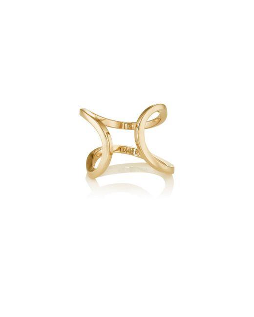 Dauphin - Metallic Small Serpentine Cuff Ring - Lyst