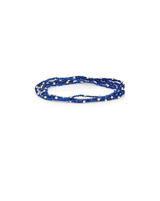 Feathered Soul - Metallic #warmth Wrap Bracelet - Lyst