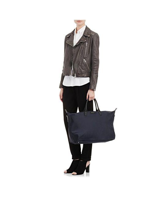 0f9125b58d83 ... Barneys New York - Blue Medium Weekender Bag for Men - Lyst ...