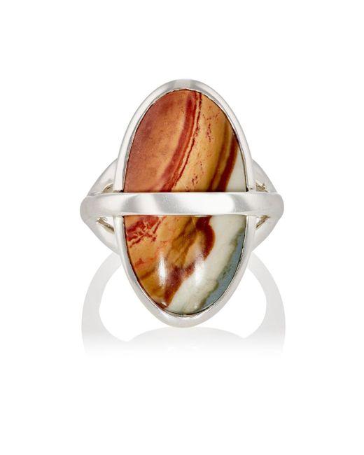 Pamela Love | Metallic Large Stratum Ring | Lyst