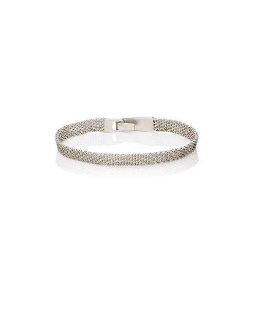 Miansai - Metallic Mesh-chain Bracelet for Men - Lyst