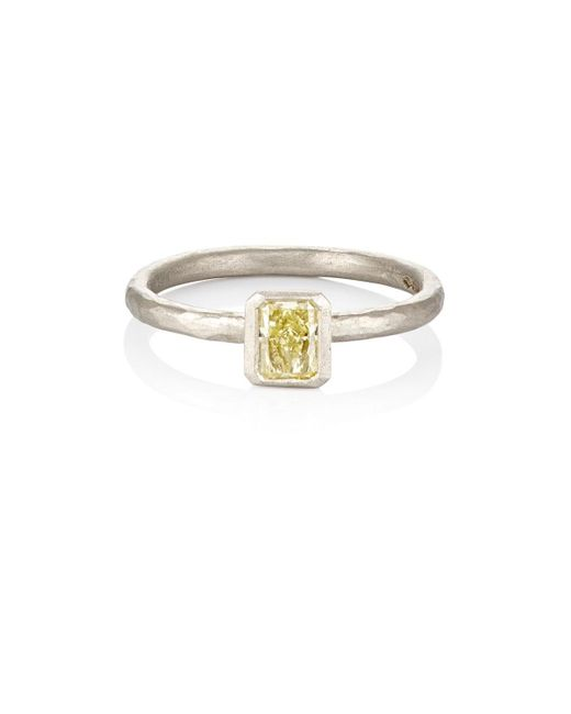 Malcolm Betts - Multicolor Yellow Diamond Ring - Lyst
