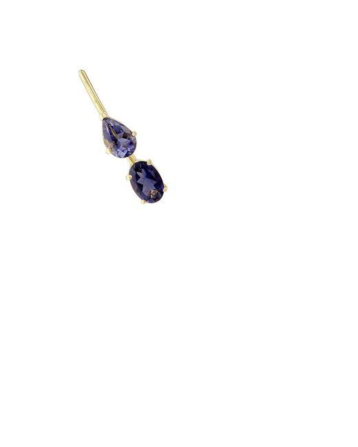 Ileana Makri - Blue Iolite Ear Pin - Lyst