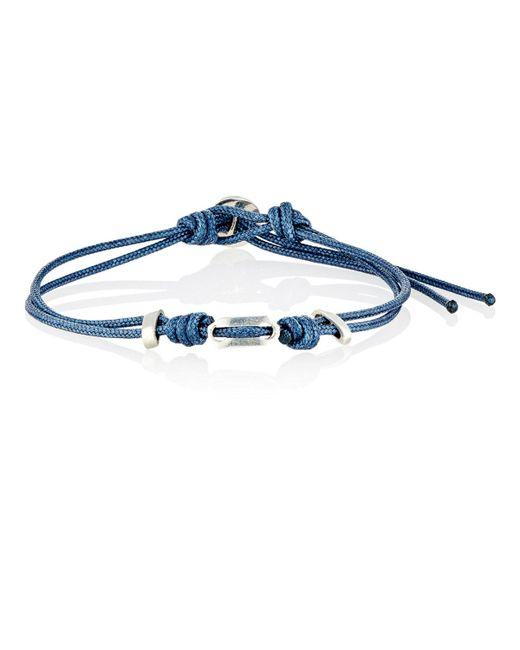 Zadeh - Blue St. Tropez Double-strand Cord Bracelet for Men - Lyst