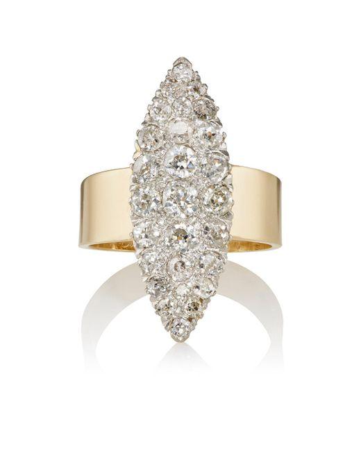 Renee Lewis | Metallic Marquis Ring | Lyst